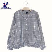 American Bluedeer-格紋抓摺襯衫