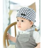 嬰兒帽子0-3-6-12個月男女寶寶兒童帽海盜帽子套頭帽純棉頭巾春秋   潮流前線