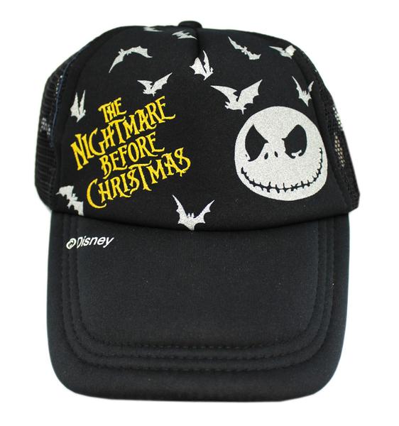 【卡漫城】 Jack 青少年 成人 帽子 黑 ㊣版 傑克 聖誕夜驚魂 遮陽帽 棒球帽 網球帽 蝙蝠