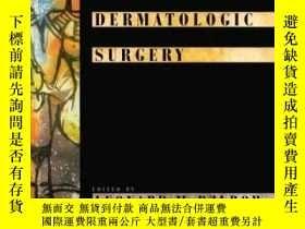 二手書博民逛書店Cosmetic罕見Dermatologic Surgery-皮膚美容外科Y361738 Leonard M.
