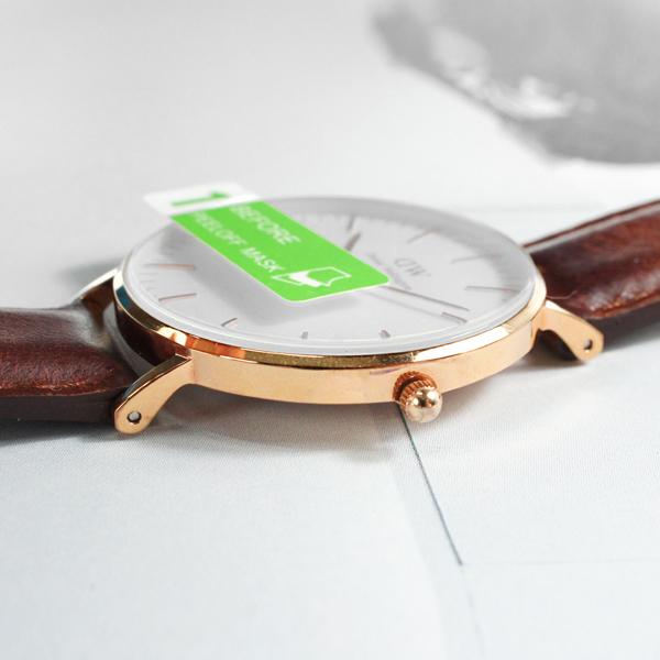 鋼化玻璃膜 DIY 手錶保護貼 鏡面貼膜 / 適用尺寸 23mm-43mm