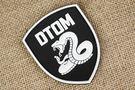 美軍 DTOM猛蛇 響尾蛇 勳章 臂章 肩章 胸章 魔術貼 夜光