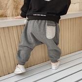 男童裤 褲子秋冬款加絨 男兒童春秋一歲兒童 屁股大的休閒PP褲外穿厚【快速出貨八折鉅惠】