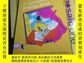 二手書博民逛書店A罕見Content-Based Writing BookY24