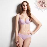 曼黛瑪璉-輕氧Bra  B-E罩杯內衣(黎明紫)