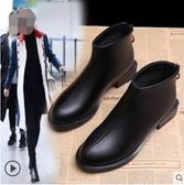 馬丁靴女英倫風新款短靴女秋冬季雪地鞋女粗跟韓版小跟鞋百搭 夏季新品