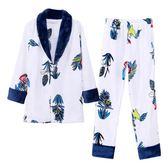 【年終大促】珊瑚絨睡衣女士秋冬季法蘭絨加厚加絨長袖家居服大碼日式和服套裝