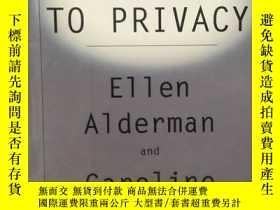 二手書博民逛書店THE罕見RIGHT TO PRIVACY (英文原版、精裝毛邊