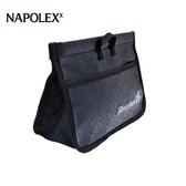 【旭益汽車百貨】日本NAPOLEX 米奇 多功能車內超薄型皮革便利置物袋 WD-356