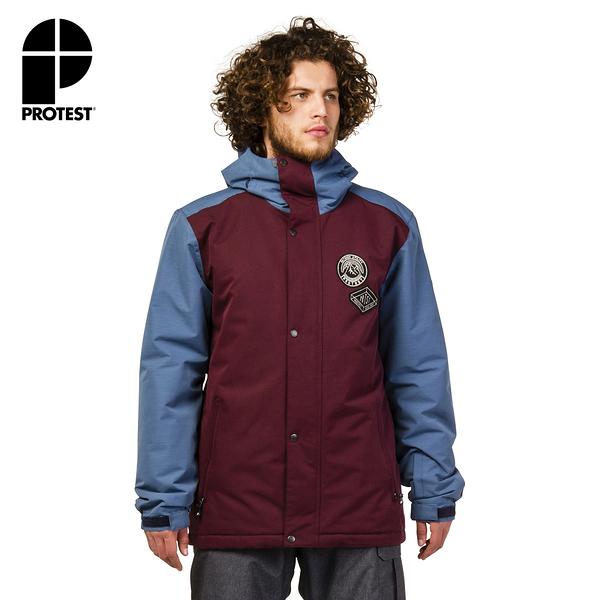 PROTEST 男 機能防水保暖外套 (深蘭花) DODGER SNOWJACKET