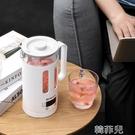 熱水壺 金正旅行便攜式燒水壺杯保溫一體泡茶專家用迷你智慧電熱水壺小型 韓菲兒