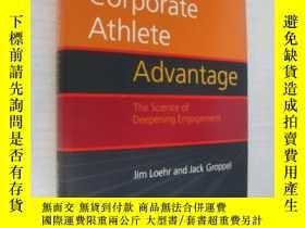 二手書博民逛書店簽名本罕見The Corporate Athlete Advan