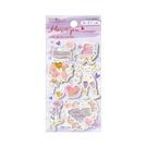 手工貼紙-紫花...
