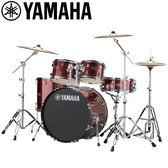 小叮噹的店-全新 YAMAHA RYDEEN 暗紅色爵士鼓(5件套組) RDP2F5