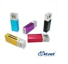 【鼎立】全新馬卡龍讀卡機 彩樣II鋁合金 ( M2 / MicroSD /32G SDHC 通通支援免轉卡)   現貨