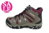 MERRELL女運動鞋 MOJAVE MID WATERPROOF ML32386登山健行鞋 F8368#棕 零碼出清