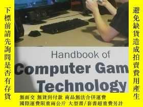 二手書博民逛書店hand罕見book of computer games tec