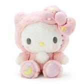 小禮堂 Hello Kitty 絨毛玩偶 (星星睡衣) 4550337-97513