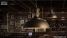 INPHIC- 工業風復古鐵藝酒吧咖啡美式燈餐廳鍋蓋吧台設計師吊燈-K款_S197C