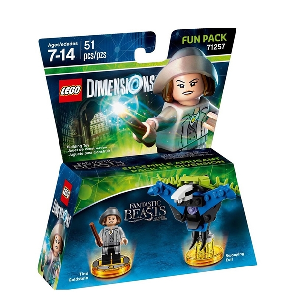 LEGO 樂高 Dimensions 次元系列 Fantastic Beasts Fun Pack 怪獸與牠們產地 71257