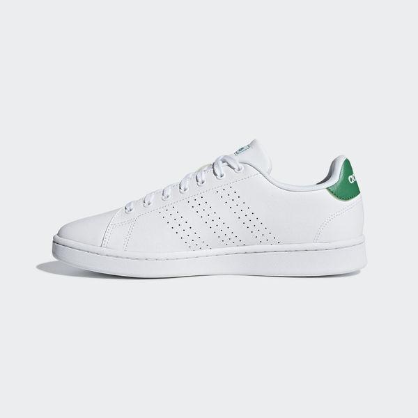 ADIDAS ADVANTAGE [F36424] 男鞋 運動 休閒 白 綠 愛迪達