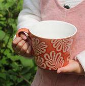 咖啡杯ins北?早餐杯子浮雕?? 牛奶?片杯?公室杯家用水杯 年終尾牙交換禮物