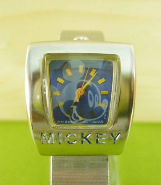 【震撼精品百貨】米奇/米妮_Micky Mouse~方形手錶-藍