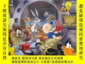 二手書博民逛書店The罕見Looney Tunes Treasury : Includes Amazing Interactive
