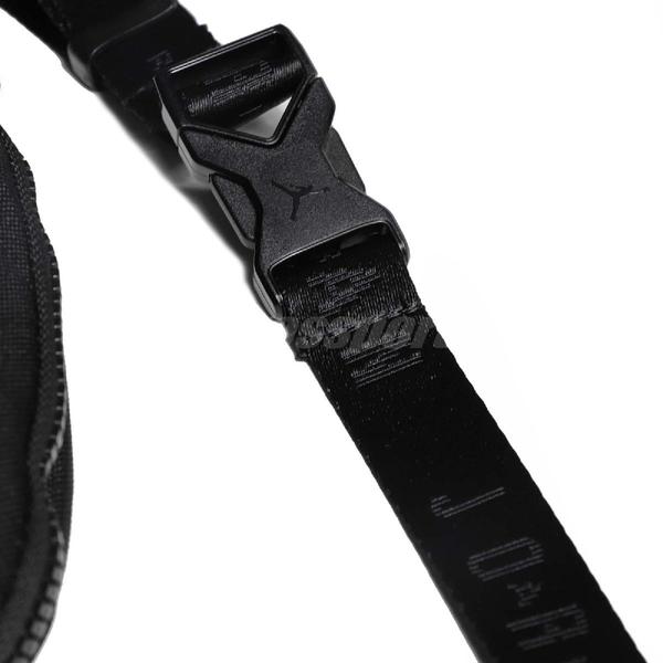 Nike 腰包 Jordan Jumpman Classics Bag 黑 金 男女款 斜背包 【ACS】 9A0260-429