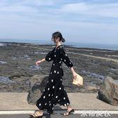 夏季洋裝海邊度假長裙旅遊必備三亞沙灘裙超仙普吉島泰國巴厘島 米希美衣