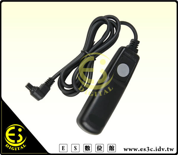 ES數位館 Canon EOS 40D EOS 50D EOS D30 EOS D60 5DII Kodak DSC-520同 RS-80N3 快門線 RS80N3