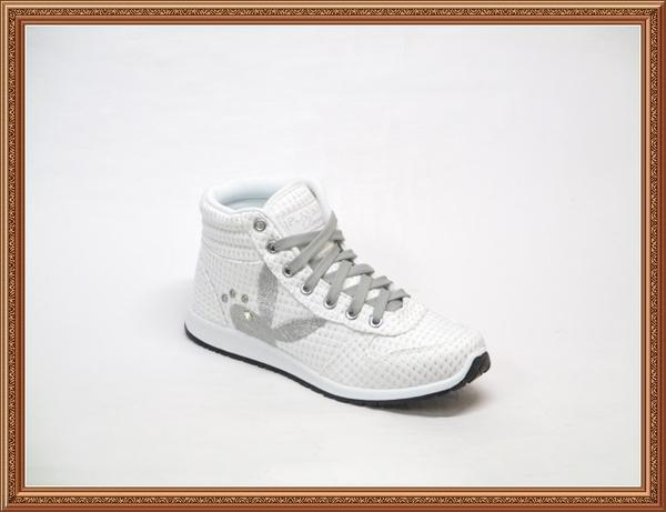 Y3218 PLAYBOY 蘇格蘭學院風 搶眼舒適百搭中筒帆布鞋/高筒帆布鞋/內增高休閒鞋(零碼特價)