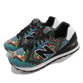 【三折特賣】New balance 休閒鞋 574 X Ricardo Seco NB 民俗風 綠 黑 女鞋 紐巴倫 【ACS】 UL574RS1D