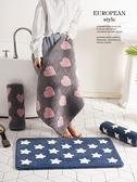 防滑墊衛生間吸水地墊地毯臥室門墊速干腳墊【聚寶屋】