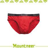 【Mountneer 山林 男 排汗三角內褲《紅色》】11K83-37/透氣內褲/排汗內褲/四角褲/三角褲★滿額送