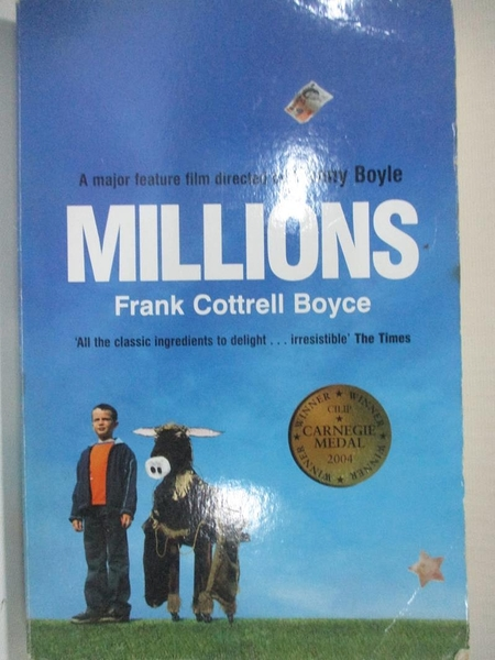 【書寶二手書T5/原文小說_B4D】Millions_BOYCE, FRANK COTTRELL, 法蘭克.考崔爾.波伊斯