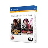 PS4-二手片 惡名昭彰 雙重包 中文版 全新未拆 PLAY-小無電玩