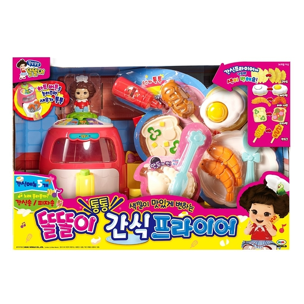 《 MIMI World 》小朵莉點心氣炸鍋 / JOYBUS玩具百貨