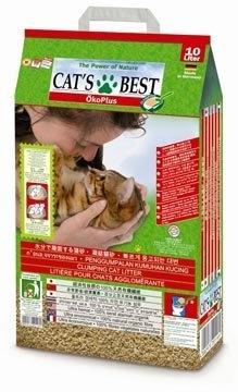 PetLand寵物樂園《德國凱優 CAT'S BEST》凝結型木屑貓砂(紅標)20L/木屑砂/貓砂