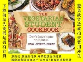 二手書博民逛書店The罕見Vegetarian Student Cookbook