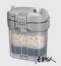 七星【前置過濾桶】外置過濾器 迷你圓桶 外置式無動力 空桶 附濾材 升級過濾系統 魚事職人
