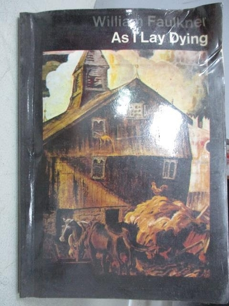 【書寶二手書T1/原文小說_MKO】As I Lay Dying_William Faulkner