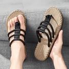 夾腳拖鞋 夏季人字拖男士時尚外穿2021新款網紅沙灘拖鞋室外防滑韓版潮涼鞋
