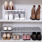 [拉拉百貨]可伸縮多用途置物架 廚房置物架 水槽下收納架 鞋架