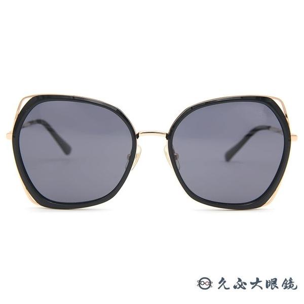 HELEN KELLER 林志玲代言 H8817 (黑-玫瑰金) 偏光太陽眼鏡 久必大眼鏡