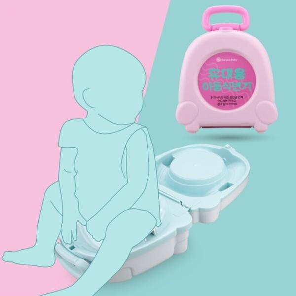 便攜嬰幼兒童坐便器 寶寶旅行應急馬桶【庫奇小舖】