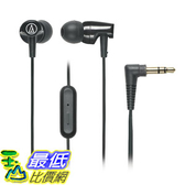 [美國直購] Audio-Technica 入耳式耳機 ATH-CLR100iSBK SonicFuel In-Ear Headphones Microphone & Control, Black
