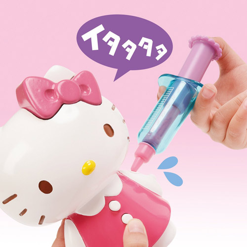 Hello Kitty 愛心醫生對話組_MK19550