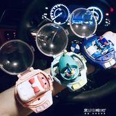 遙控玩具-網紅手表帶遙控車感應賽車珀利社會人兒童電動玩具迷你遙控小汽車 東川崎町