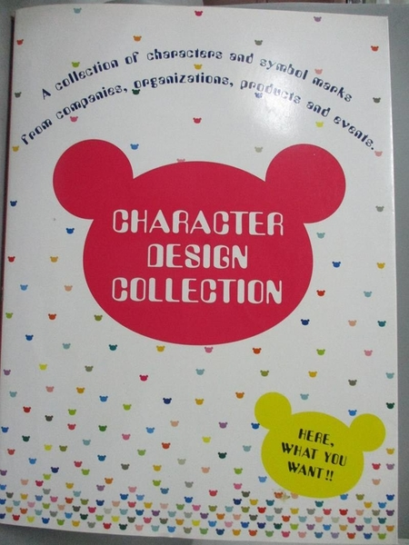 【書寶二手書T1/設計_WGM】Character Design Collection_Pie Books (EDT)